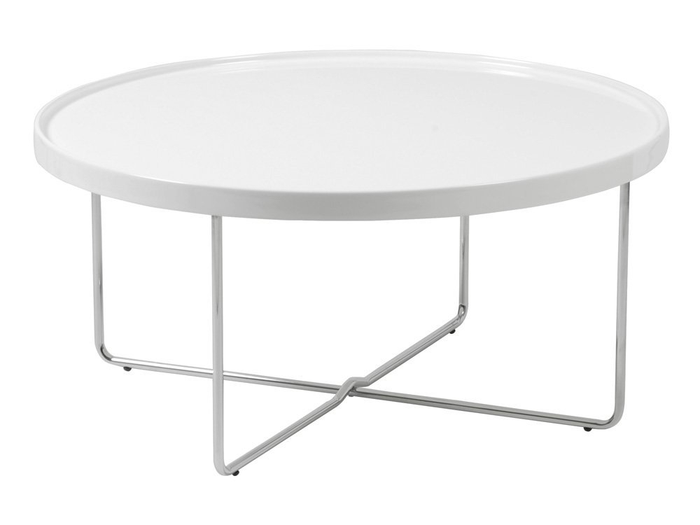 Marvelous Round White Coffee Table White Round Coffee Table For Your With Shroom Coffee Tables (Image 11 of 40)