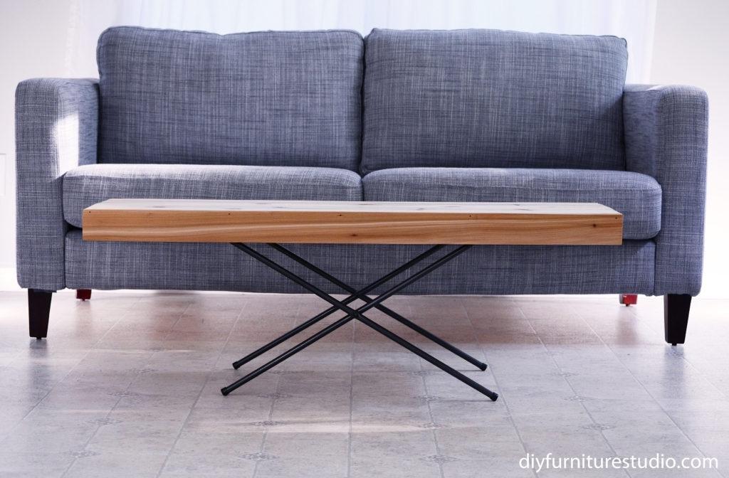 May 2016 – Diy Furniture Studio In Pine Metal Tube Coffee Tables (Image 23 of 40)