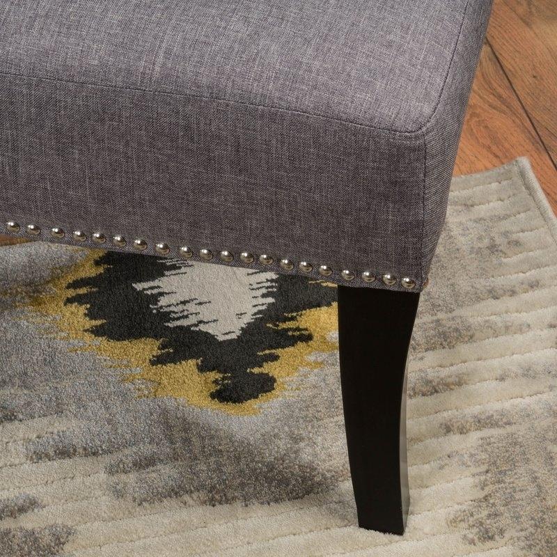 Mercer41 Moraga Slipper Chair & Reviews | Wayfair Intended For Moraga Barrel Coffee Tables (View 30 of 40)