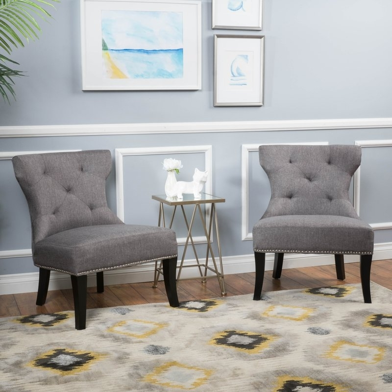 Mercer41 Moraga Slipper Chair & Reviews | Wayfair Intended For Moraga Barrel Coffee Tables (Photo 12 of 40)
