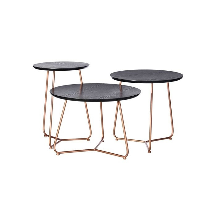 Featured Image of Flat Black And Cobre Coffee Tables