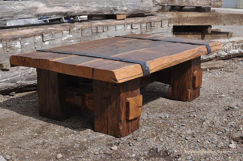 Metal Wood Table – Netinvest.club Intended For Reclaimed Elm Cast Iron Coffee Tables (Photo 38 of 40)