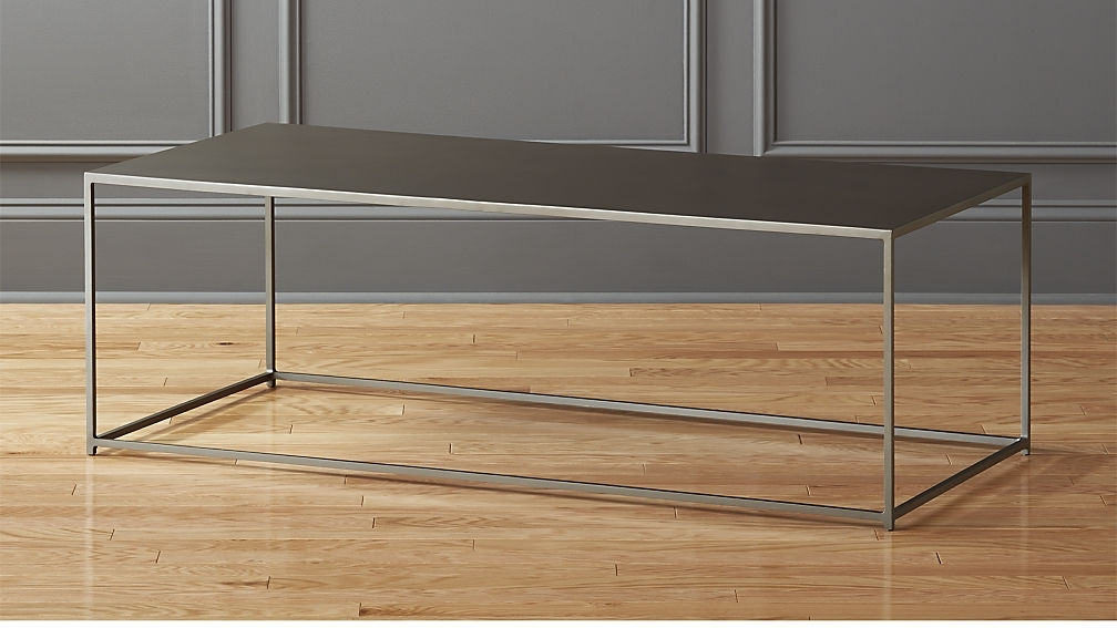 Mill Large Coffee Table + Reviews | Cb2 Pertaining To Mill Coffee Tables (View 2 of 40)