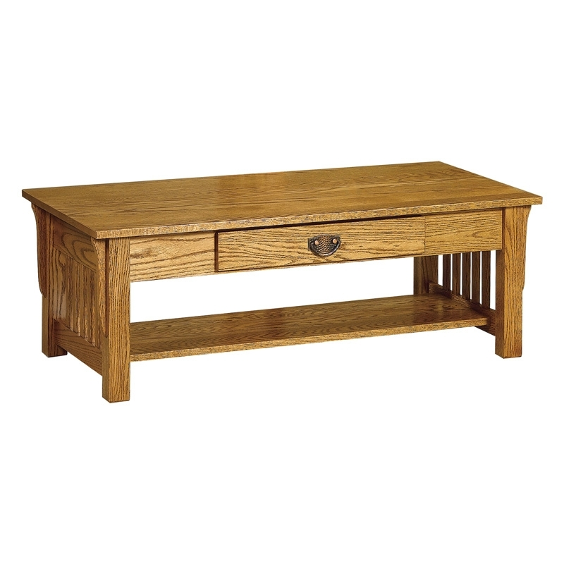 Mission Coffee Table 48X24 | Shipshewana Furniture Co (Image 32 of 40)