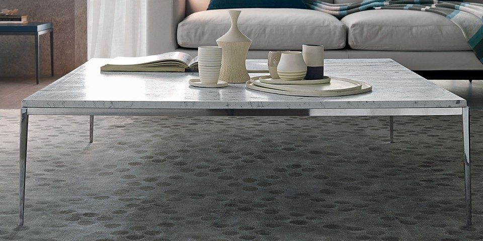 Misuraemme Kessler White Marble Coffee Table | The Longest Stay With Regard To Marble Coffee Tables (Image 26 of 40)