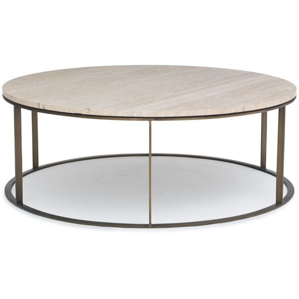 Mitchell Gold + Bob Williams Allure Round Cocktail Table ($1,756 Intended For Allure Cocktail Tables (Photo 10 of 40)
