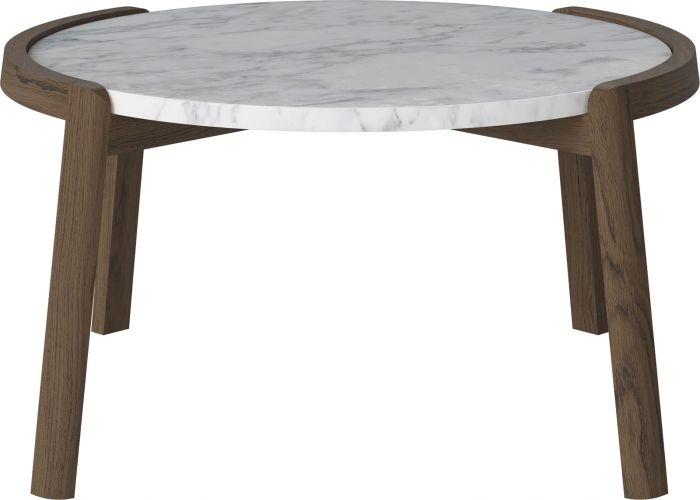 Mix Coffee Table – Medium – White – Smoked Oak Regarding Smoked Oak Coffee Tables (View 32 of 40)