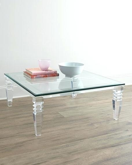 Modern Acrylic Coffee Table With Regard To Felicity Cocktail Tables (Image 31 of 40)