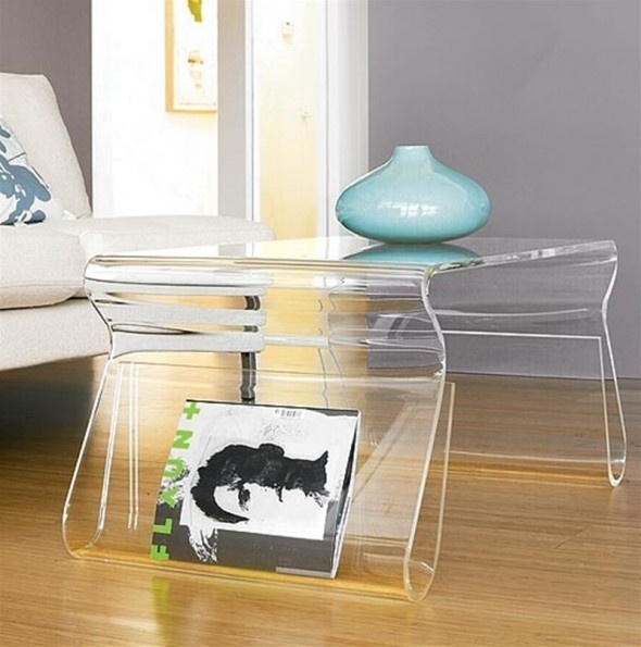 Modern Acrylic Lucite Coffee Tables Manufacturer For Modern Acrylic Coffee Tables (View 2 of 40)