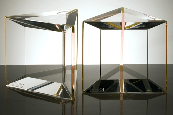 Modern Acrylic Side Table | Contemporary End Tables Throughout Modern Acrylic Coffee Tables (Image 27 of 40)