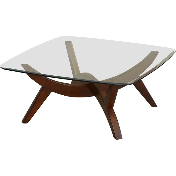 Modern & Contemporary 48 Inch Square Coffee Table | Allmodern With Regard To Large Scale Chinese Farmhouse Coffee Tables (Image 34 of 40)