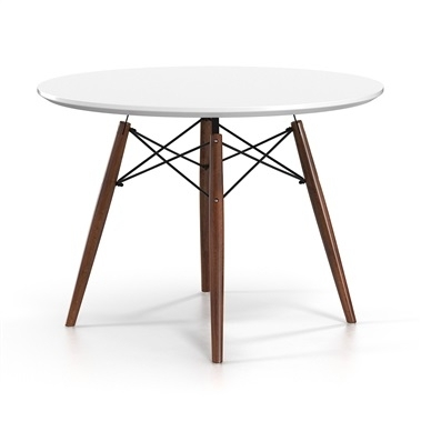 Modern Dining Tables Intended For 33 Inch Industrial Round Tables (Image 30 of 40)