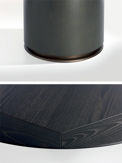 Modern Furniture & Lighting | Spencer Interiors, Vancouver | What's Inside Flat Black And Cobre Coffee Tables (Image 23 of 40)