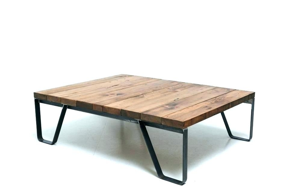 Modern Industrial Coffee Table Square Home And Office Haven Phebe With Regard To Haven Coffee Tables (Image 32 of 40)