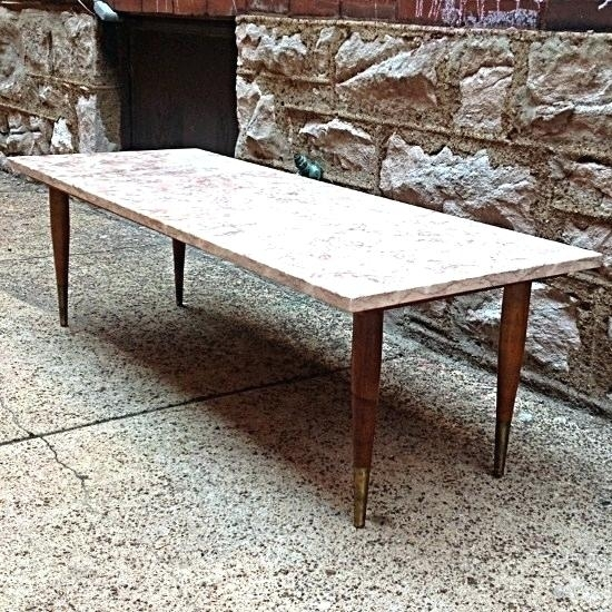Modern Marble Coffee Table New Design Living Room Furniture Modern Regarding Mid Century Modern Marble Coffee Tables (Image 28 of 40)