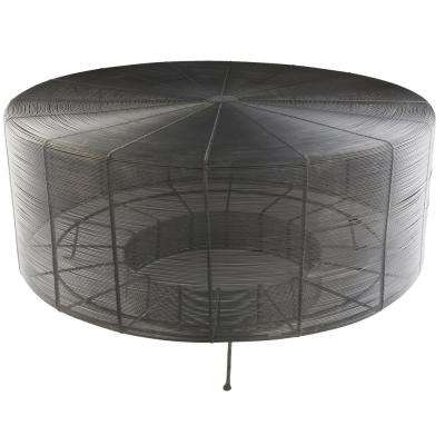 Modern – Round – Metal – Coffee Tables – Accent Tables – The Home Depot Within Weaver Dark Rectangle Cocktail Tables (View 18 of 40)