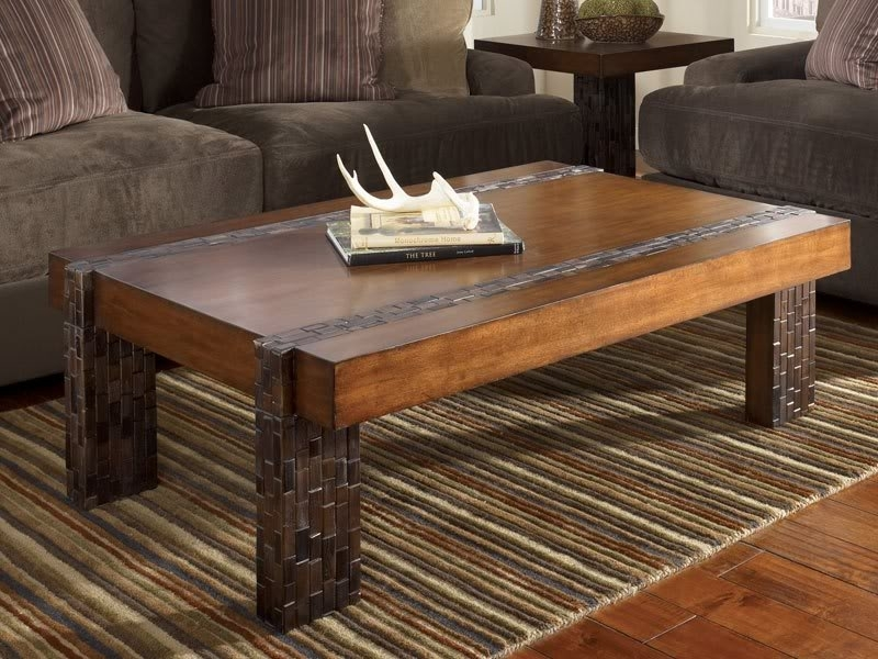 Modern Rustic Coffee Table Rustic Coffee Table In Coffee Table Style With Regard To Modern Rustic Coffee Tables (Image 22 of 40)