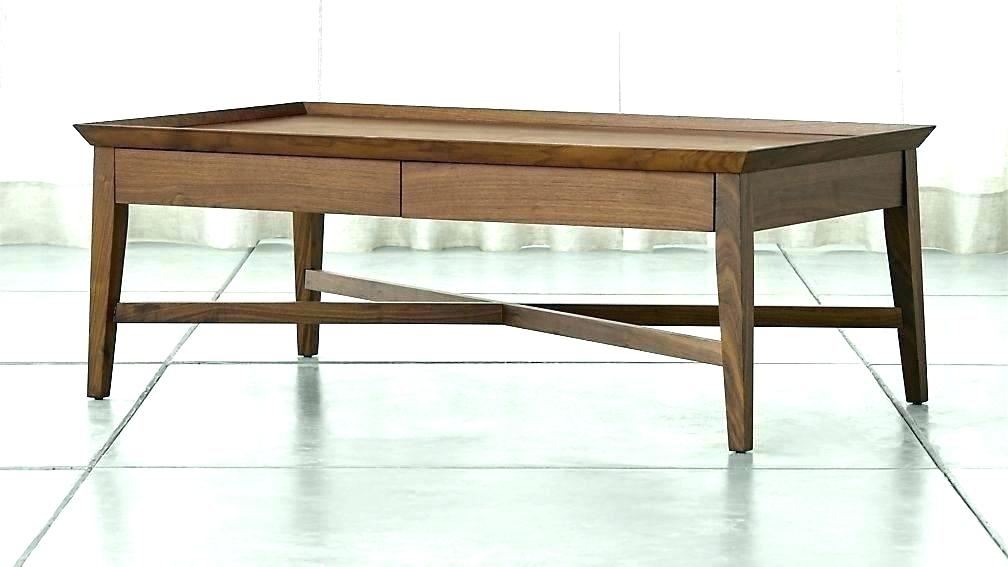 Modern White Coffee Table Drawers With Small Uk – Ssinfotech.co Pertaining To Walnut Finish 6 Drawer Coffee Tables (Photo 40 of 40)