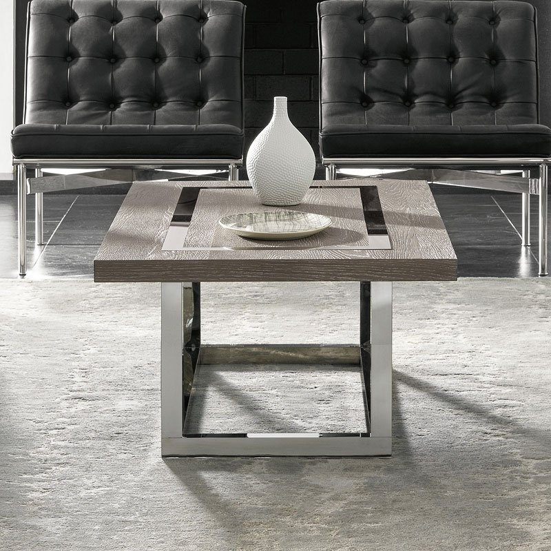 Modern Wyatt Cocktail Table (Flint) Universal Furniture | Furniture Cart With Regard To Wyatt Cocktail Tables (Image 19 of 40)