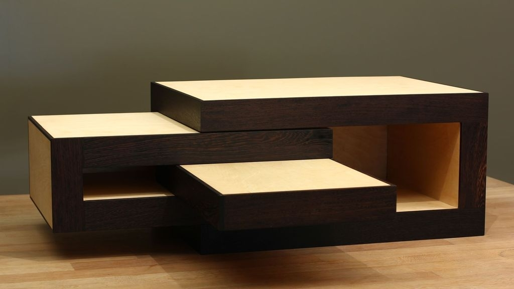 Modular Coffee Table (Design Reinier De Jong): 7 Steps (With Pictures) For Modular Coffee Tables (View 4 of 40)
