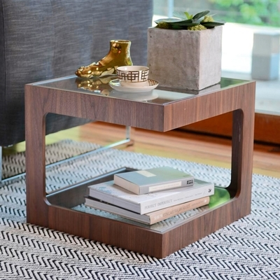 Modular Side Table Walnut – Dwell With Modular Coffee Tables (View 37 of 40)