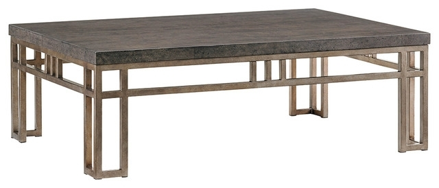 Montera Travertine Cocktail Table – Craftsman – Coffee Tables – In Craftsman Cocktail Tables (Image 29 of 40)