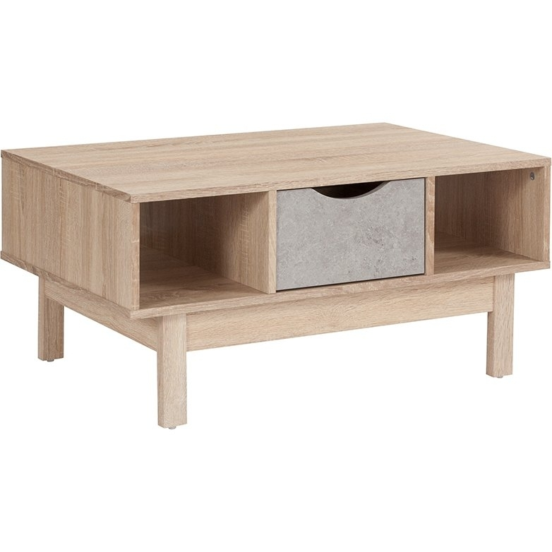 Natural Oak Light Brown Coffee Table – St (View 36 of 40)