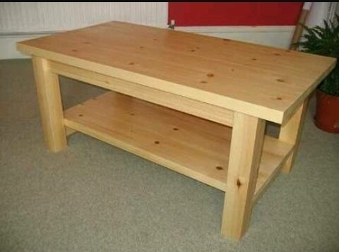 Natural Pine Wood Center Table, Size (Feet): 24*18*18, Rs 5000 For Natural Pine Coffee Tables (Image 24 of 40)