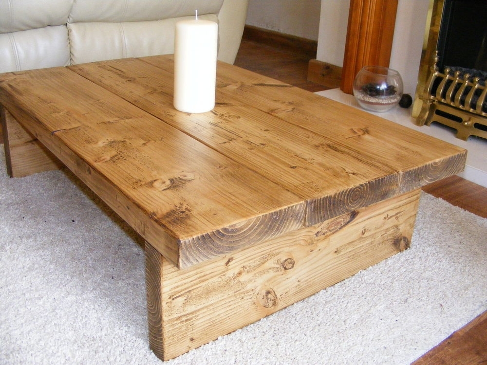 Natural Wood Coffee Table Ideas : Harmonious Natural Wood Coffee For Natural Pine Coffee Tables (Image 25 of 40)