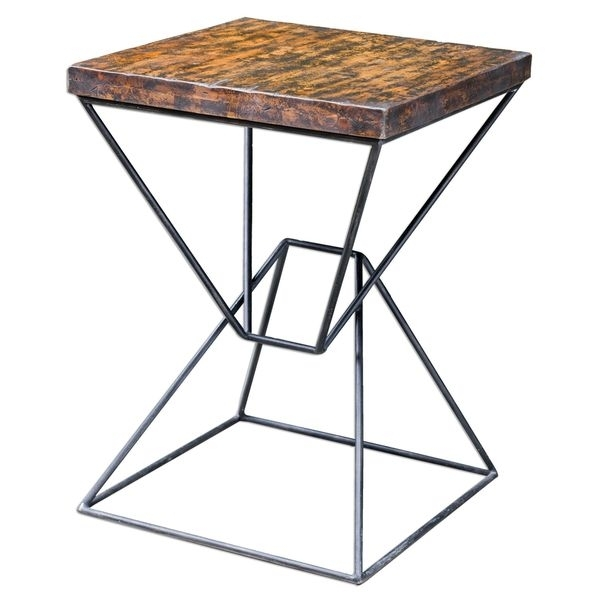 Naveen Modern Accent Table – Free Shipping Today – Overstock – 18034133 With Regard To Naveen Coffee Tables (Photo 1 of 40)