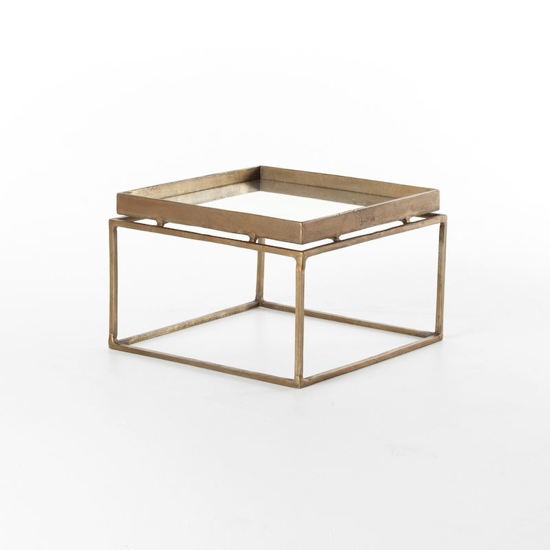 Neo Bunching Table | Cube, Trays And Industrial With Brass Iron Cube Tables (Image 27 of 40)