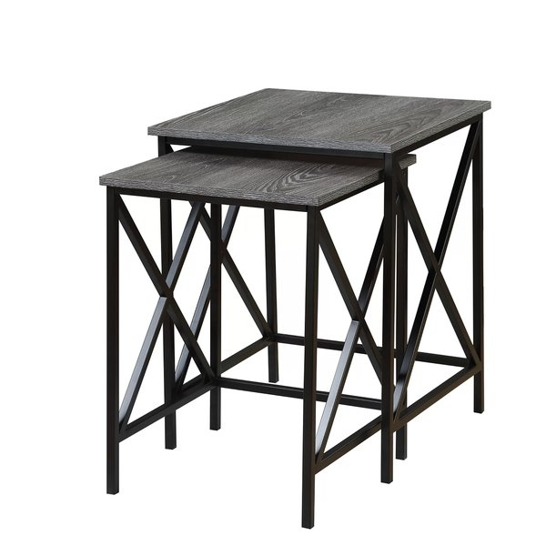 Nesting Tables You'll Love | Wayfair Intended For Aged Iron Cube Tables (Image 31 of 40)