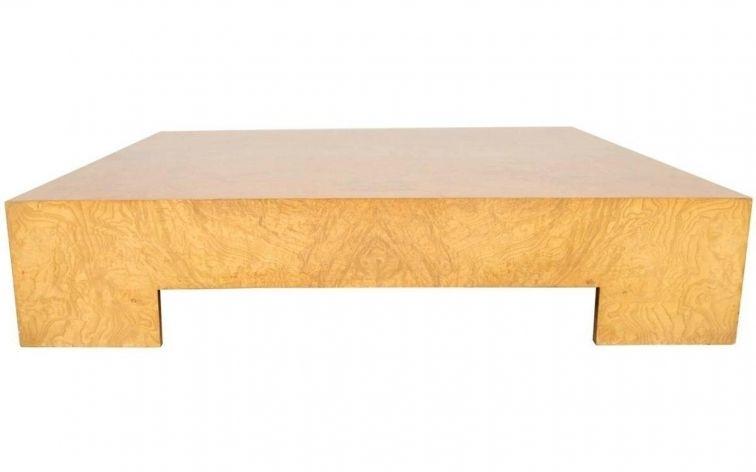 New Burl Wood Coffee Table | Ilrestodelcaffe With Regard To Oslo Burl Wood Veneer Coffee Tables (Image 24 of 40)