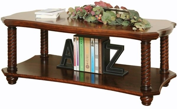 New Haven Ornate Coffee Table – Countryside Amish Furniture With Regard To Haven Coffee Tables (Photo 23 of 40)