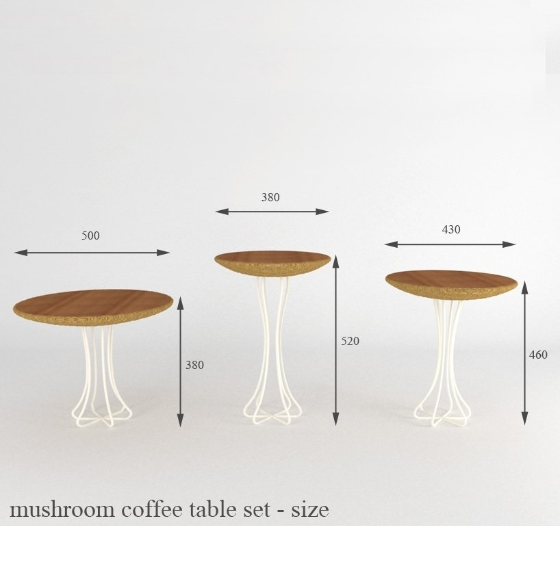 New Mushroom Coffee Table Designboom, Mushroom Coffee Table Throughout Shroom Coffee Tables (Image 23 of 40)