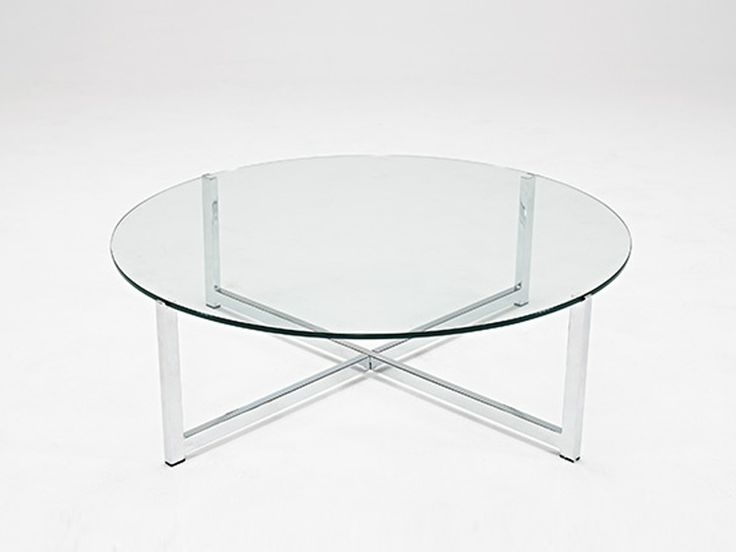 Nice Round Acrylic Coffee Table With Best 25 Round Glass Coffee For Modern Acrylic Coffee Tables (Image 32 of 40)