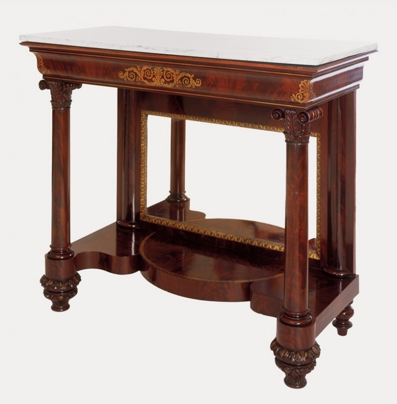 Nicholas C. Vincent | Philadelphia Pier Tables And Their Role In In Jackson Marble Side Tables (Photo 15 of 40)