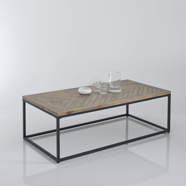 Nottingham Parquet Coffee Table , Polished Pine, La Redoute Intended For Parquet Coffee Tables (Image 19 of 40)
