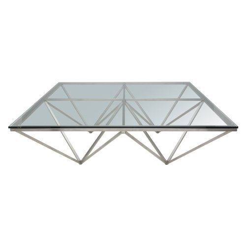 Nuevo Origami Square Coffee Table Size – Large – 47.25 X 47.25 For Inverted Triangle Coffee Tables (Photo 14 of 40)