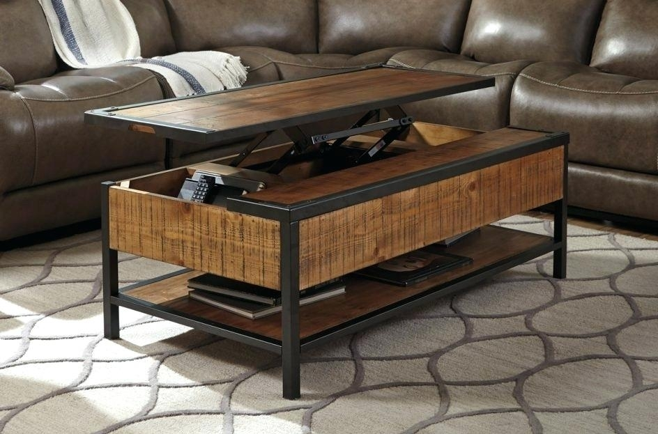Oak Lift Top Coffee Table Solid Wood Lift Top Coffee Table Oak Lift In Logan Cocktail Tables (Image 28 of 40)
