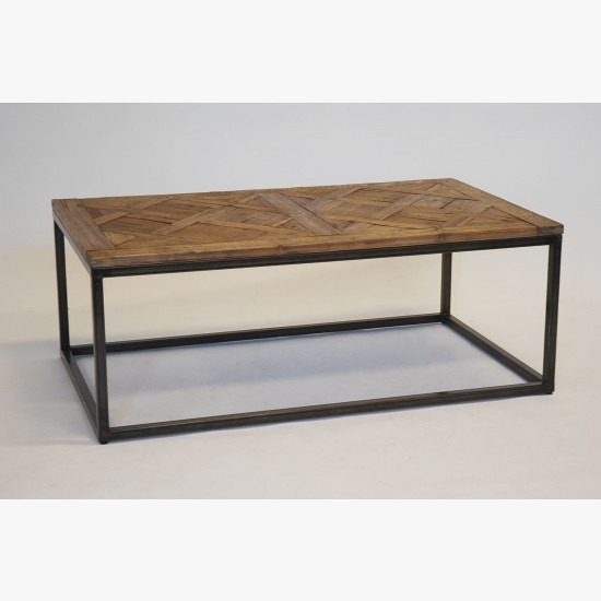 Oak Parquet Coffee Table | Hire & Rental Regarding Parquet Coffee Tables (Image 20 of 40)