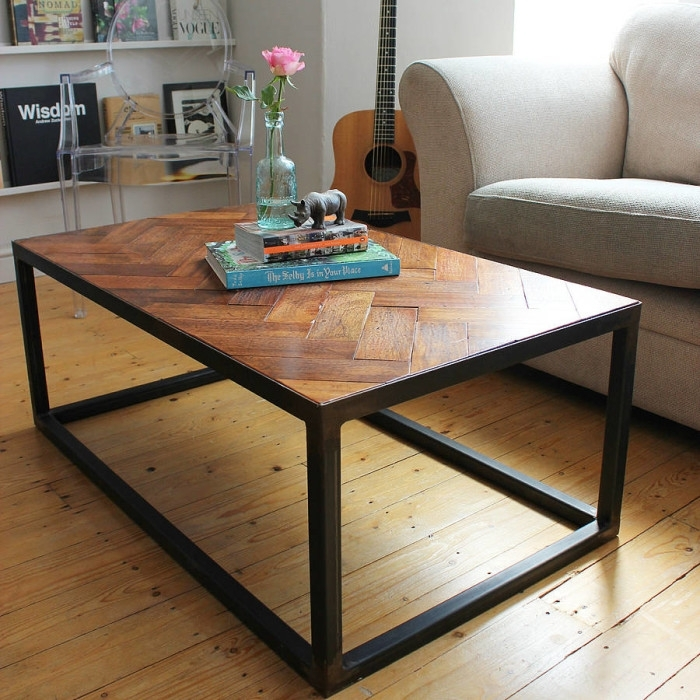 Objects Of Design #327: Upcycled Parquet Coffee Table – Mad About With Parquet Coffee Tables (Image 21 of 40)