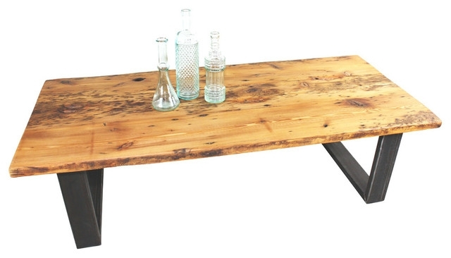 Old Growth Reclaimed Pine Coffee Table – Rustic – Coffee Tables – Inside Reclaimed Pine Coffee Tables (View 6 of 40)