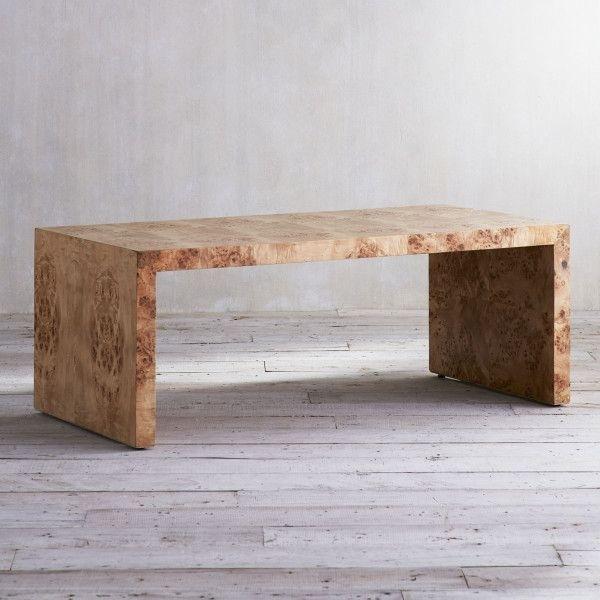 Featured Image of Oslo Burl Wood Veneer Coffee Tables