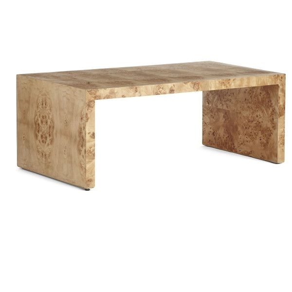 Oslo Burl Wood Veneer Collection – Coffee Table | Wood Veneer, Oslo With Oslo Burl Wood Veneer Coffee Tables (View 2 of 40)