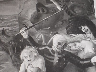 Otto Dix German Expressionism Weimar Horror Of War Coffee Table Art For Expressionist Coffee Tables (Image 35 of 40)