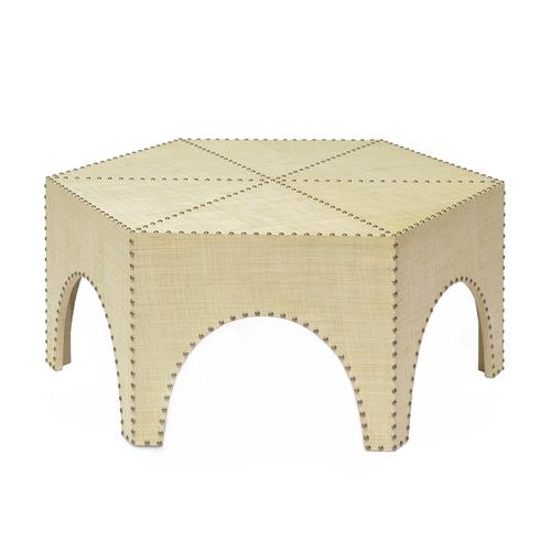 Palecek Casablanca Coffee Table Zinc Door | Coffee/end Tables Intended For Casablanca Coffee Tables (View 12 of 40)