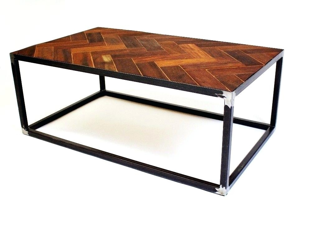 Parquet Coffee Table – Vidamoderna (Image 23 of 40)