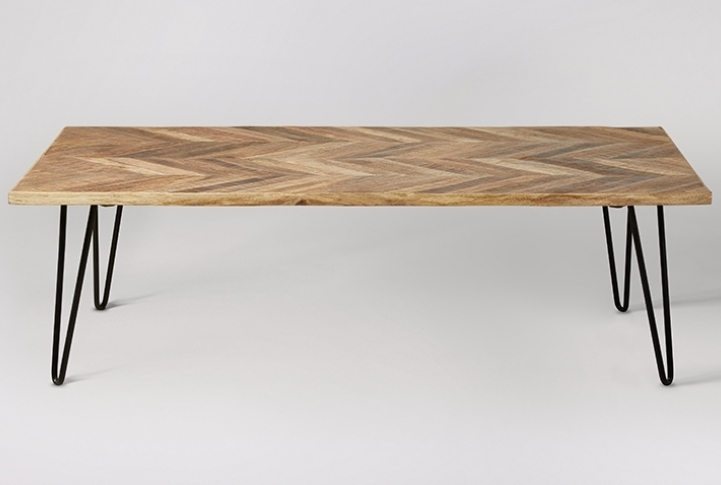 Parquet Mango Wood Coffee Table | Absolute Home With Regard To Parquet Coffee Tables (Image 30 of 40)