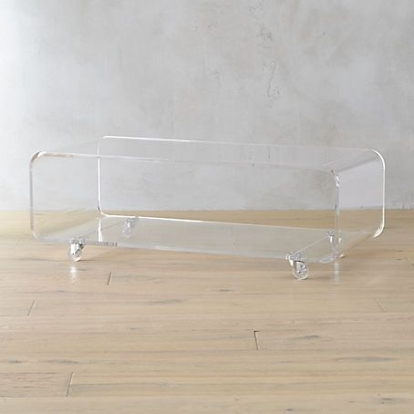 Peekaboo Acrylic Coffee Table | Coffee Tables And End Tables Inside Peekaboo Acrylic Coffee Tables (Image 26 of 40)